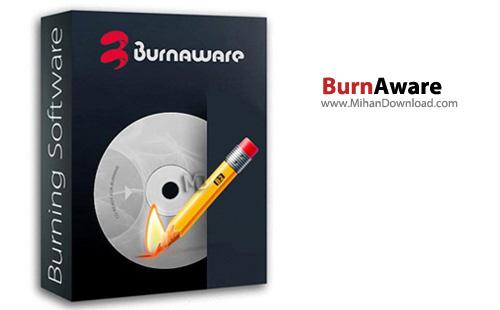 Burn نرم افزار رایت انواع دیسک ها BurnAware Professional 6 9 2