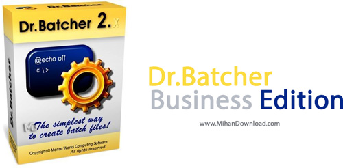 Business Edition دانلود نرم افزار Dr.Batcher Business Edition v2 3 3