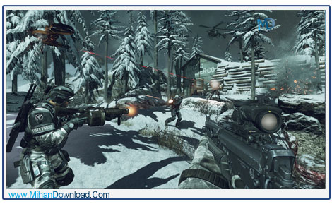 CALL OF DUTY GHOSTS PS3 3 دانلود بازی Call Of Duty Ghosts سربازان نامرئی