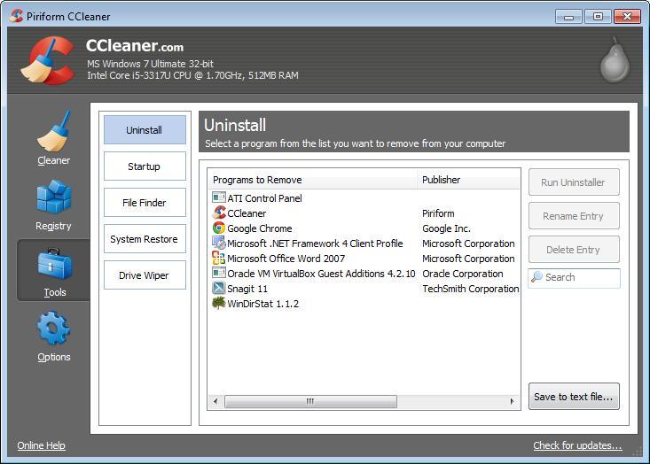 CCleaner1 دانلود نرم افزار بهینه سازی ویندوز CCleaner Pro