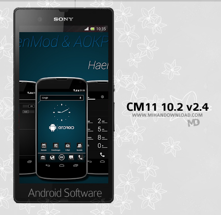 CM11 10.2 AOKP White v2 دانلود نرم افزار CM11 10.2 برای آندروید
