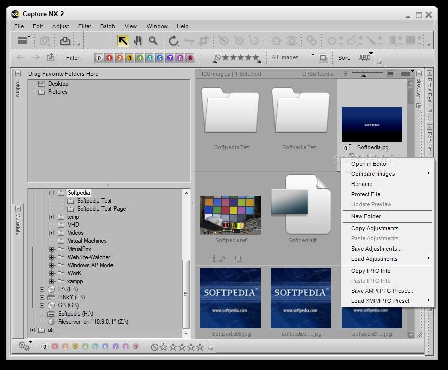 Capture NX 1 دانلود نرم افزار افزایش کیفیت تصاویر Nikon Capture NX2 2.4.5