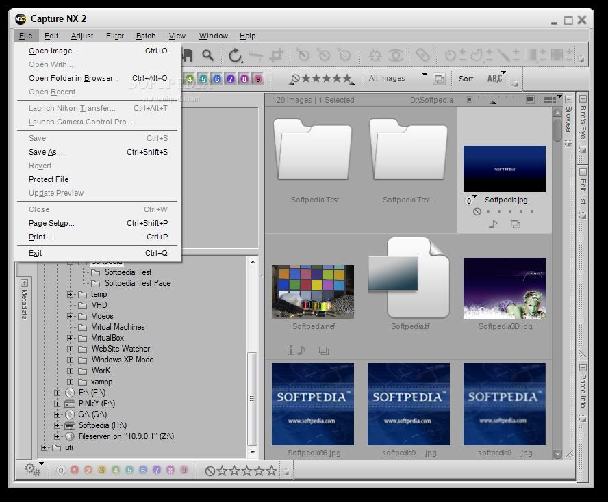 Capture NX 2 دانلود نرم افزار افزایش کیفیت تصاویر Nikon Capture NX2 2.4.5