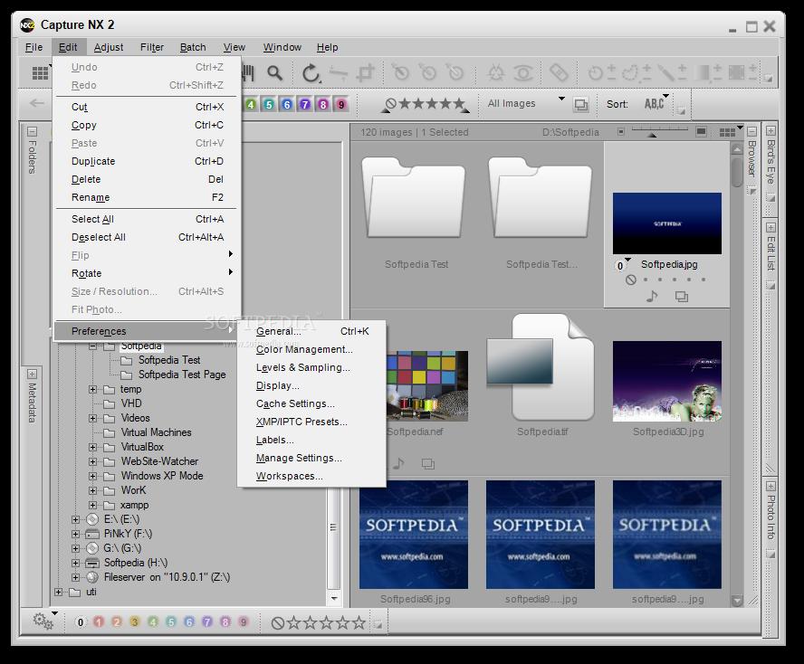 Capture NX 3 دانلود نرم افزار افزایش کیفیت تصاویر Nikon Capture NX2 2.4.5