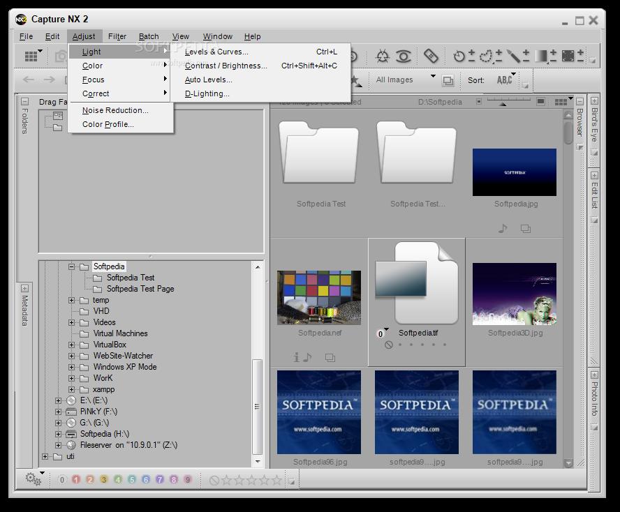 Capture NX 4 دانلود نرم افزار افزایش کیفیت تصاویر Nikon Capture NX2 2.4.5