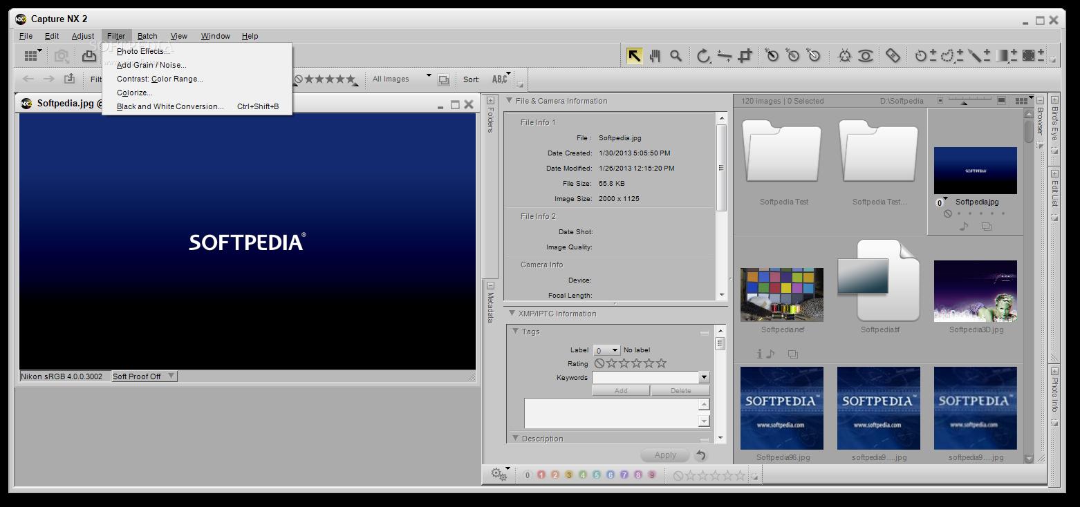 Capture NX 5 دانلود نرم افزار افزایش کیفیت تصاویر Nikon Capture NX2 2.4.5