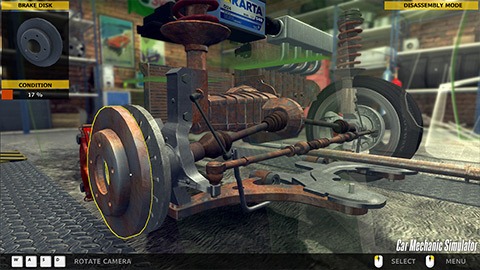 Car Mechanic Simulator 3 بازی شبیه ساز مکانیکی خودرو Car Mechanic Simulator