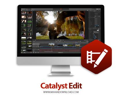 Catalyst Edit icon دانلود نرم افزار Catalyst Edit ویرایش فایل های ویدئویی برای ویندوز