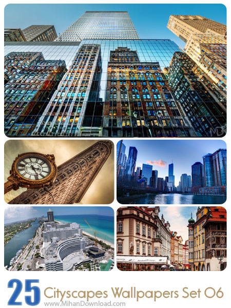 Cityscapes Wallpaper Set 06 دانلود مجموعه عکس شهرها Cityscapes Wallpapers Set 06