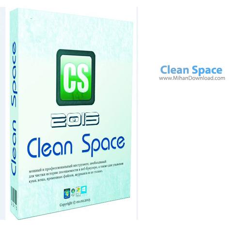 Clean Space دانلود Clean Space 2013 09 نرم افزار پاکسازی تمامی ردپاهای موجود در ویندوز