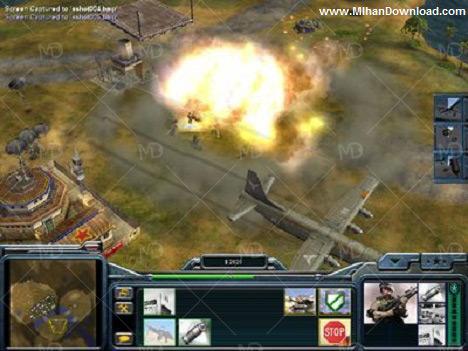 Command Conquer Generals 4 دانلود بازی قدیمی ژنرال Command And Conquer Generals Zero Hour
