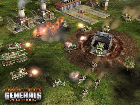 Command Conquer Generals zerohour 3 دانلود بازی قدیمی ژنرال Command And Conquer Generals Zero Hour