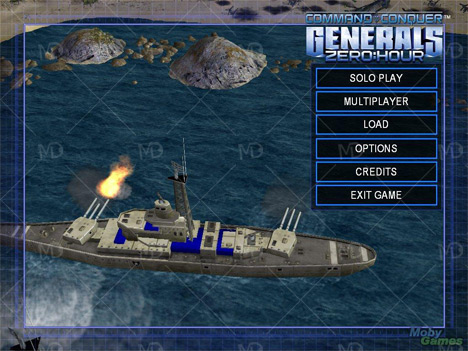 Command Conquer Generals zerohour 4 دانلود بازی قدیمی ژنرال Command And Conquer Generals Zero Hour