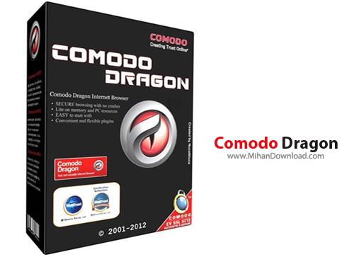Comodo Dragon1 دانلود مرورگر سریع Comodo Dragon 52.15.25.664