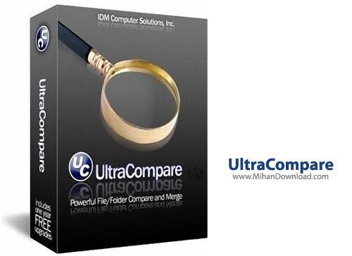Compare نرم افزار مقایسه فایل ها با یکدیگر IDM UltraCompare Pro 8 50 0 1028