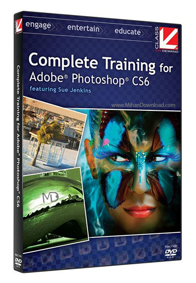 Complete Training for Adobe Photoshop CS6 دانلود آموزش کامل فتوشاپ Adobe Photoshop CS6