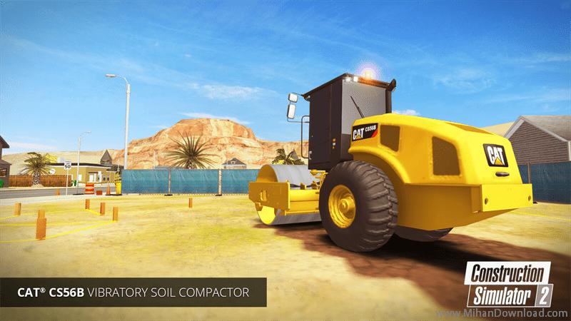 Construction Simulator 2 icon2 دانلود بازی شبیه ساز ساخت و ساز برای آندروید + مود