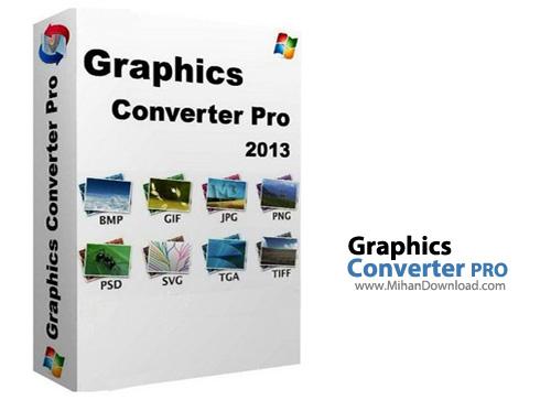Converter PRO نرم افزار مبدل تصاویر Graphics Converter PRO 2013 3 90 Build 140122