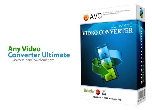 Converter Ultimate1 نرم افزار تبدیل فرمت های ویدیویی Any Video Converter Ultimate 5 5 5