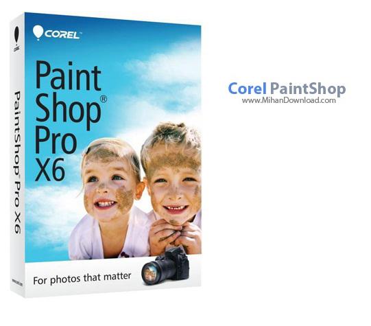 Corel PaintShop1 دانلود Corel PaintShop Pro X6 v16 1 0 48 نرم افزار ویرایش تصاویر