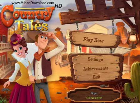 Country Tales 1 دانلود Country Tales بازی داستان غرب وحشی برای کامپیوتر
