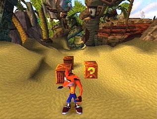 دانلود بازی های PS1 برای کامپیوتر : Crash Bandicoot