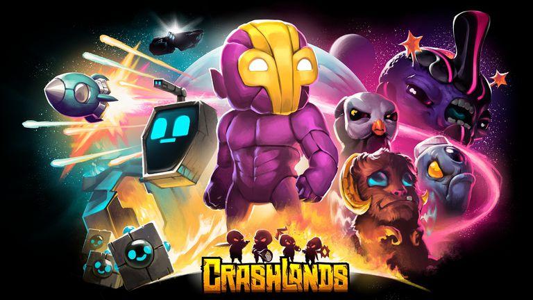 Crashlands 1 دانلود بازی Crashlands برای آندروید
