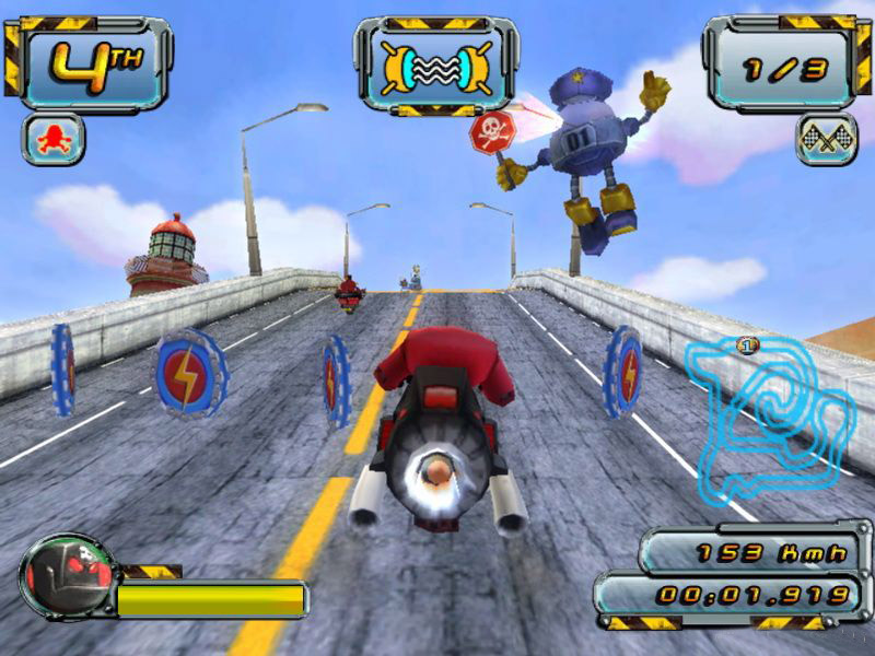 Crazy Frog Racer 2 screen دانلود بازی Crazy Frog Racer 2 برای کامپیوتر