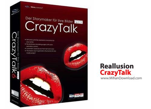 CrazyTalk نرم افزار جان بخشی به تصاویر Reallusion CrazyTalk PRO 7 3 2215 1 Retail