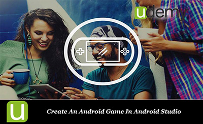Create An Android Game In Android Studio cover دانلود فیلم آموزش آندروید استودیو