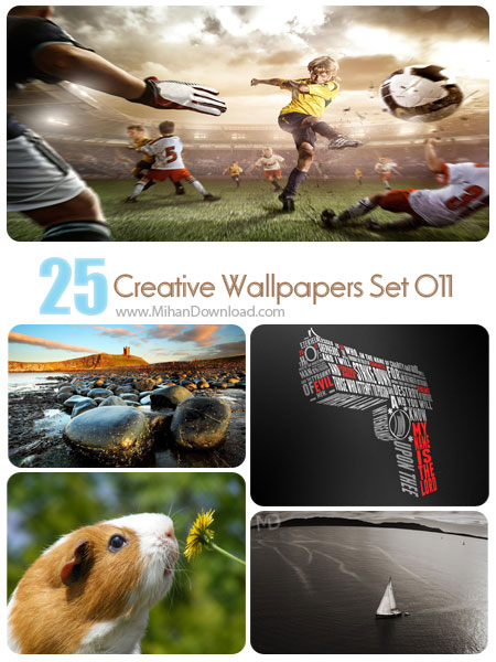 Creative Wallpapers Set 011 دانلود مجموعه عکس خلاقانه Creative Wallpapers Set 011