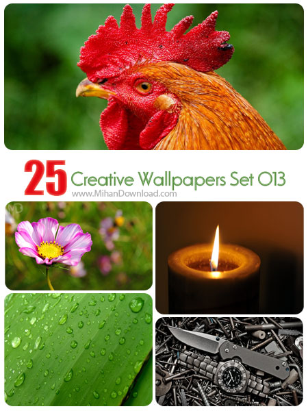 Creative Wallpapers Set 013 دانلود مجموعه عکس خلاقانه Creative Wallpapers Set 013