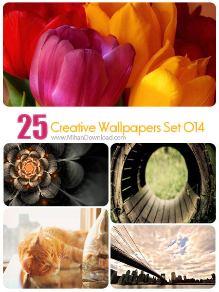 Creative Wallpapers Set 014 دانلود مجموعه عکس خلاقانه Creative Wallpapers Set 014