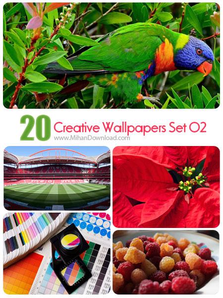 Creative Wallpapers Set 02 دانلود Creative Wallpapers Set 02 مجموعه دوم از تصاوير خلاقانه