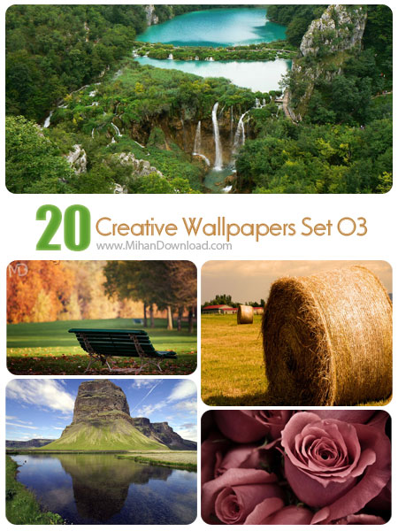 Creative Wallpapers Set 03 دانلود مجموعه عکس خلاقانه Creative Wallpapers Set 03