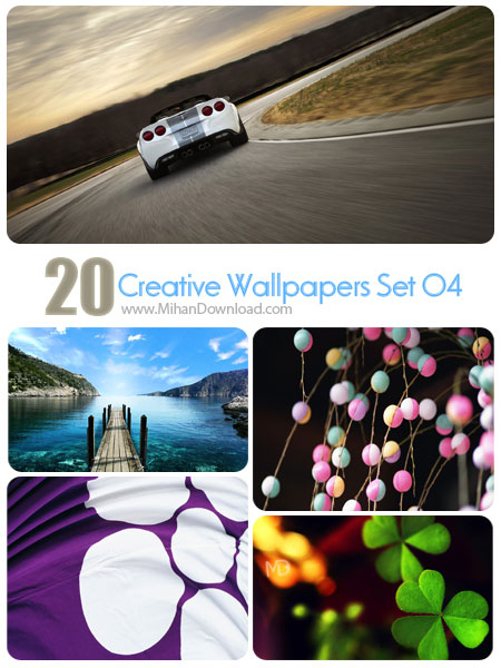 Creative Wallpapers Set 04 دانلود مجموعه عکس خلاقانه Creative Wallpapers Set 04