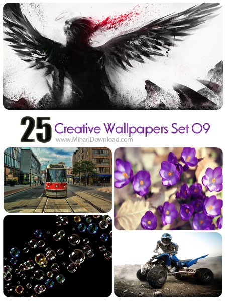 Creative Wallpapers Set 09 دانلود مجموعه عکس خلاقانه Creative Wallpapers Set 09