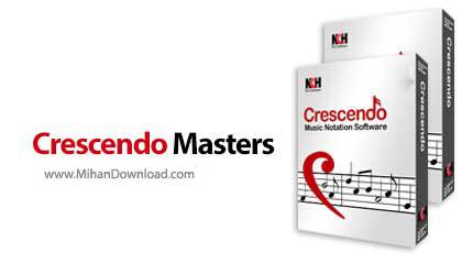 Crescendo Masters 1 دانلود Crescendo Masters نرم افزار طراحی و مدیریت نت های موسیقی