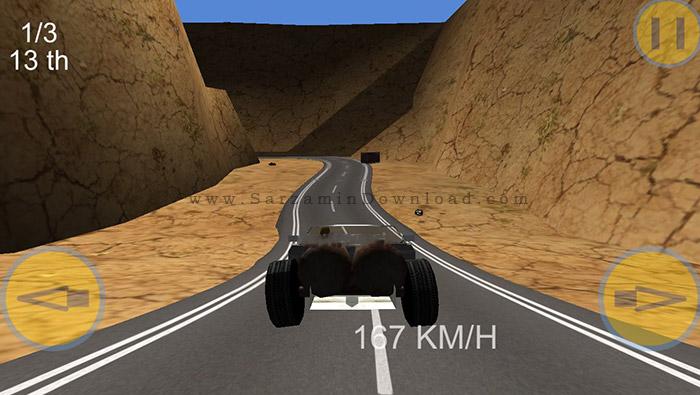 Crush.Race .3D 1 دانلود Crush Race 3D بازی ماشین برای کامپیوتر