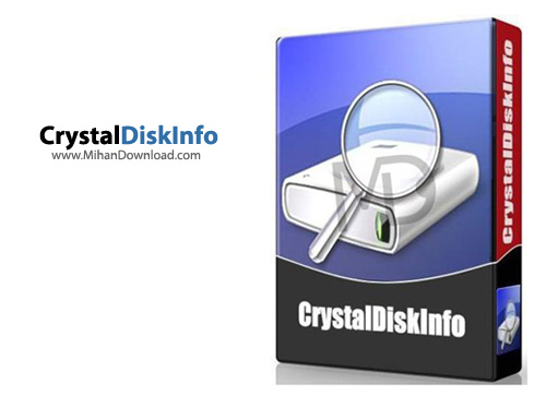 CrystalDiskInfo1 نرم افزار نمایش مشخصات هارد دیسک CrystalDiskInfo 6 1 8