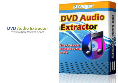 DVD Audio Extractor دانلود DVD Audio Extractor 7 1 3  نرم افزار استخراج فایلهای صوتی از دی وی دی
