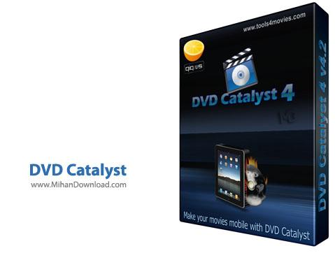 DVD Catalyst مبدل فایل های دی وی دی DVD Catalyst 4 v4 5 0 0 Retail