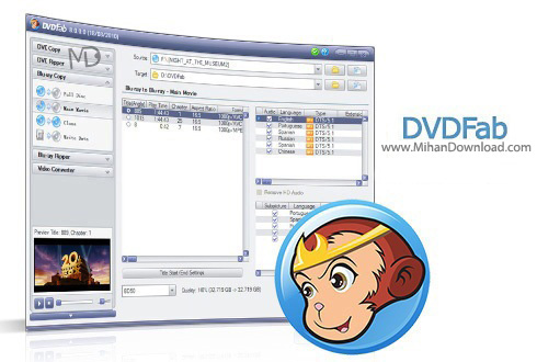 DVDFab11 دانلود DVDFab 9.1.5.7 Final نرم افزار رایت و پشتیبان گیری از دی وی دی