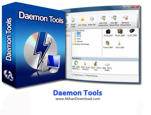 Daemon Tools Pro Advanced دانلود Daemon Tools Pro Advanced 5 3 0 0359 نرم افزار درایو مجازی