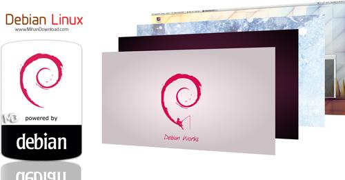 Debian Linux دانلود Debian Linux 7 3 0 سیستم عامل لینوکس