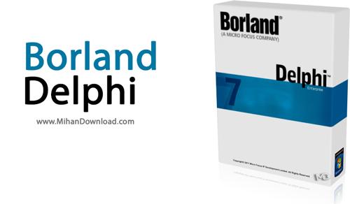 Delphi1 دانلود زبان برنامه نویسی دلفی Borland Delphi v7 0