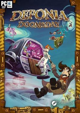 Deponia Doomsday 1 دانلود بازی Deponia Doomsday برای کامپیوتر
