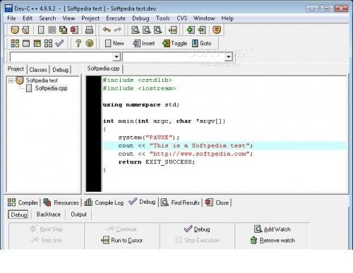Dev C  دانلود نرمافزار زبان برنامه نویسی سی پلاس پلاس Dev C++ 5.6.3