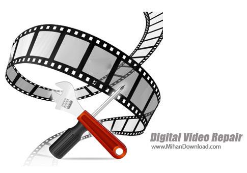Digital Video Repair دانلود Digital Video Repair نرم افزار قدرتمند فشرده سازی فیلم