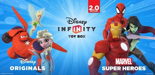 Diseny infinity دانلود بازی جعبه اسباب بازی Disney Infinity: Toy Box 2.0 v1.0 اندروید